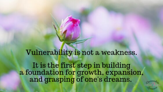 It's OK to be Vulnerable…